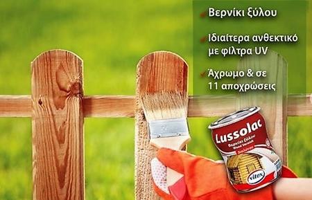 Picture for category Bερνίκια & συντηρητικά ξύλου διαλύτη