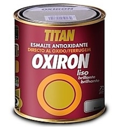 Picture of Αντισκωριακό Χρώμα Μετάλλων Γυαλιστερό Oxiron Liso ΤΙΤΑΝ